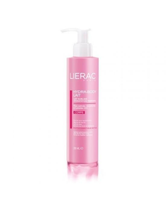 Lierac Hydra-Body Lait  Idratazione Perfetta 200ml - FARMAEMPORIO
