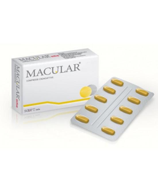 Sooft Macular Fag Integratore Alimentare 20c Compresse - Zfarmacia