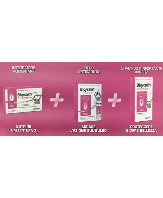 Bioscalin Tricoage Compresse + Siero + Shampoo - Zfarmacia
