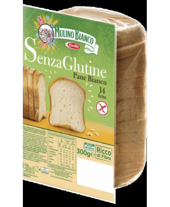 Mulino Bianco Pane Bianco Con Farina Di Riso Senza Glutine 300g - FARMAPRIME