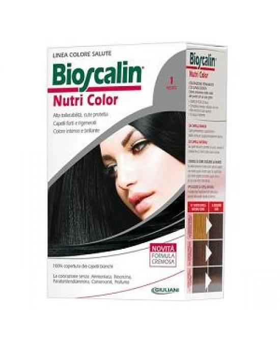 Bioscalin NutriColor COlorazione Permanente Tonalità 1 Nero - Farmabravo.it