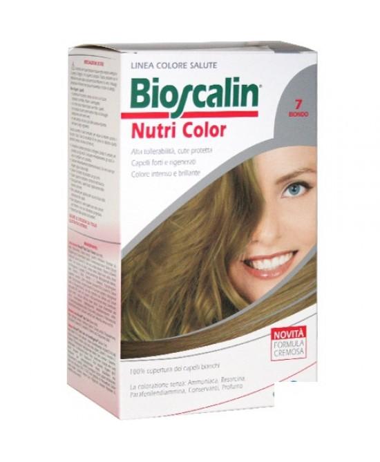 Bioscalin NutriColor Tintura Per Capelli Colore 7 Biondo - FARMAEMPORIO