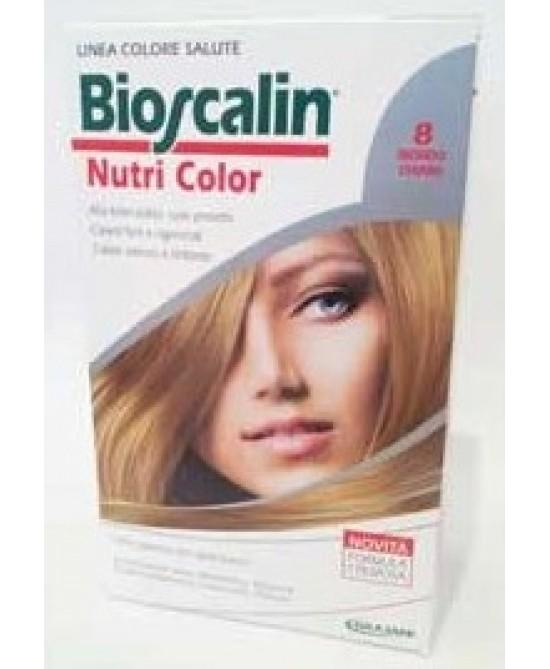 Bioscalin NutriColor Tintura Per Capelli Colore 8 Biondo Chiaro - Farmabravo.it