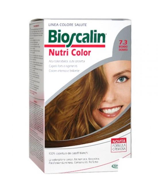 Bioscalin NutriCol Tintura Per Capelli 7.3 Biondo Dorato - FARMAEMPORIO