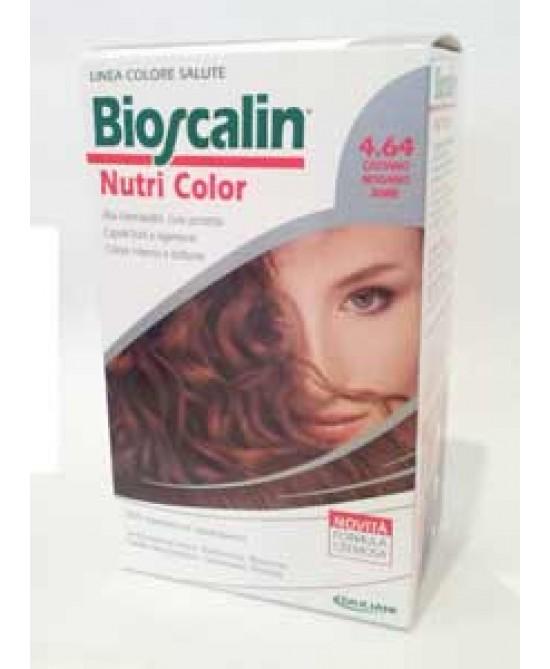Bioscalin Nutricolor Tintura Per Capelli Colore 4.64 Castano Mogano Rame - Farmastar.it