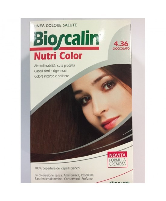Bioscalin NutriColor 7,36 Nocciola - Farmastar.it