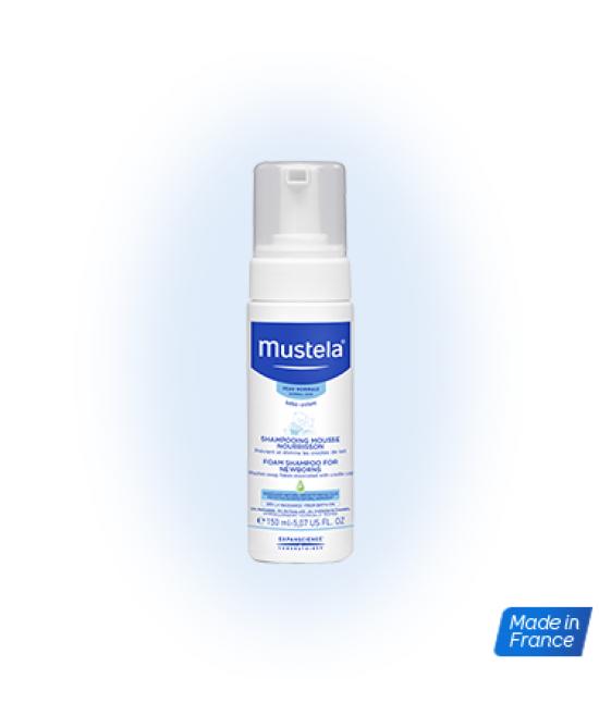 Mustela Shampoo Mousse 150ml - Farmajoy