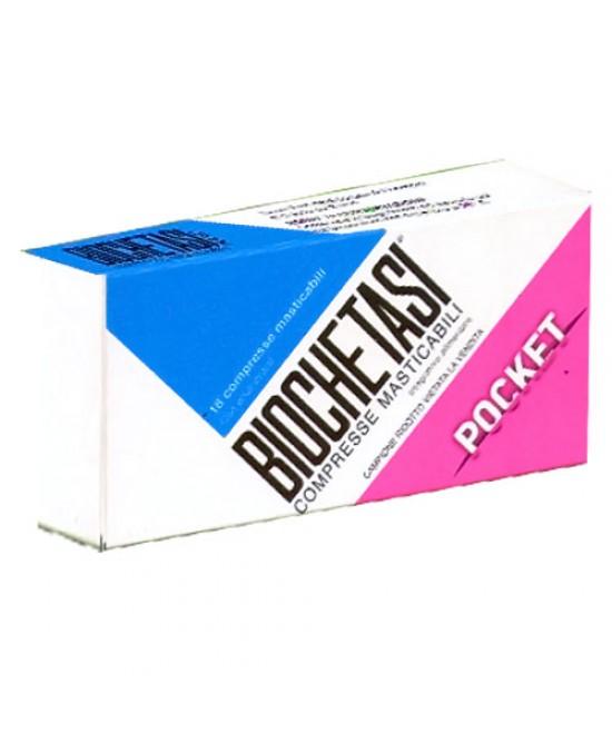 Biochetasi Pocket Integratore Alimentare 18 Compresse Masticabili - La tua farmacia online