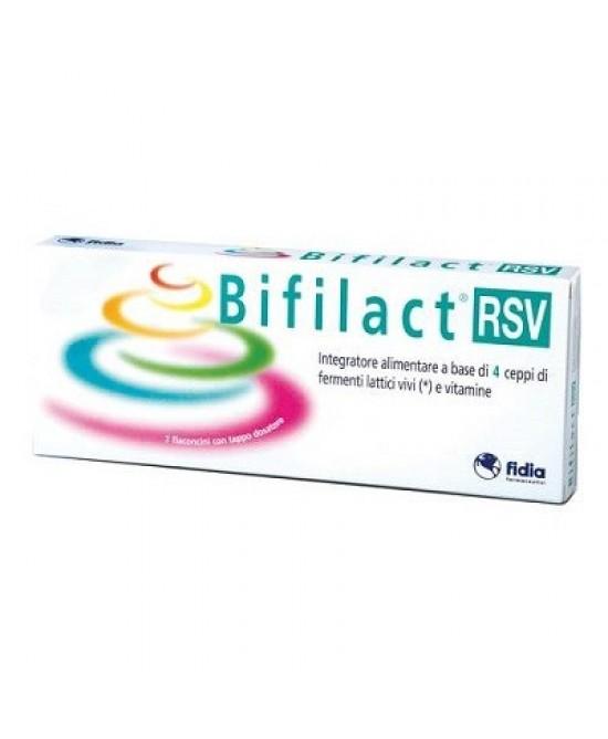 Fidia Bifilact Rsv Integratore Alimentare 14 Flaconi - Zfarmacia