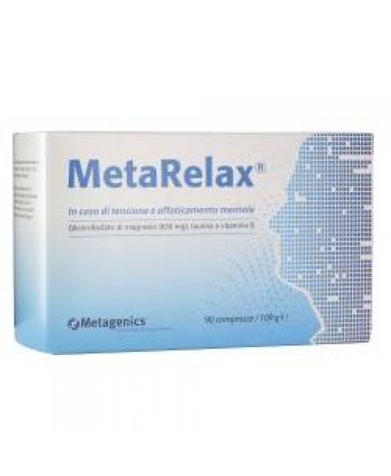 MetaRelax New Integratore Alimentare 45 Compresse - Farmacia 33
