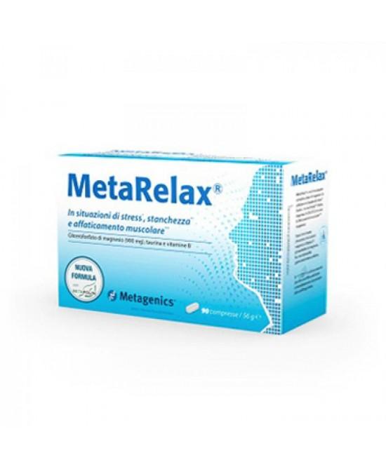 Metarelax New Integratore Alimentare 20 Bustine - Farmacia 33