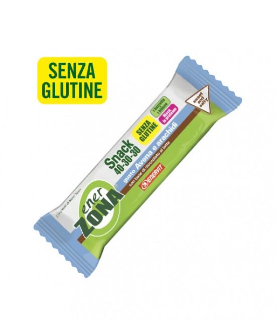EnerZona Enervit Snack 40-30-30 Avena E Arachidi Senza Glutine 23g - Farmastar.it