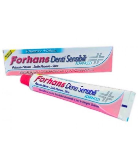 Forhans Denti Sensibili Advanced Dentifricio 75ml - Parafarmaciabenessere.it