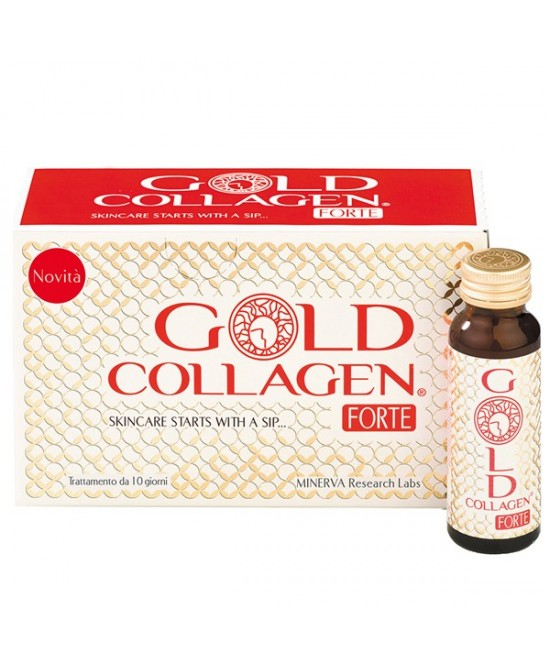 GOLD COLLAGEN FORTE 10 FLACONI - Antica Farmacia Del Lago