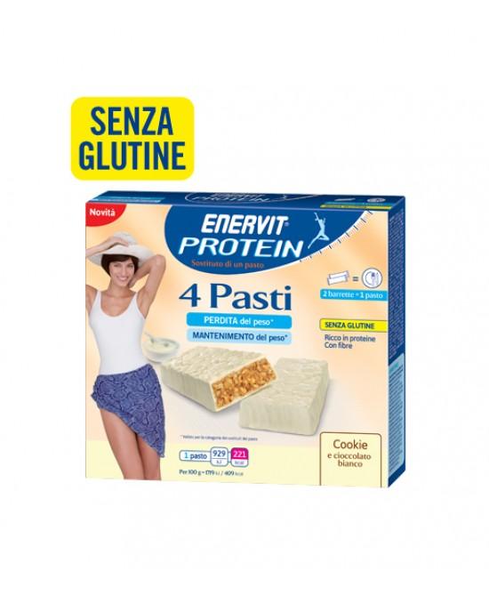 Enervit Protein 4 Pasti Gusto Cookie Integratore Alimentare 8x27g - FARMAEMPORIO