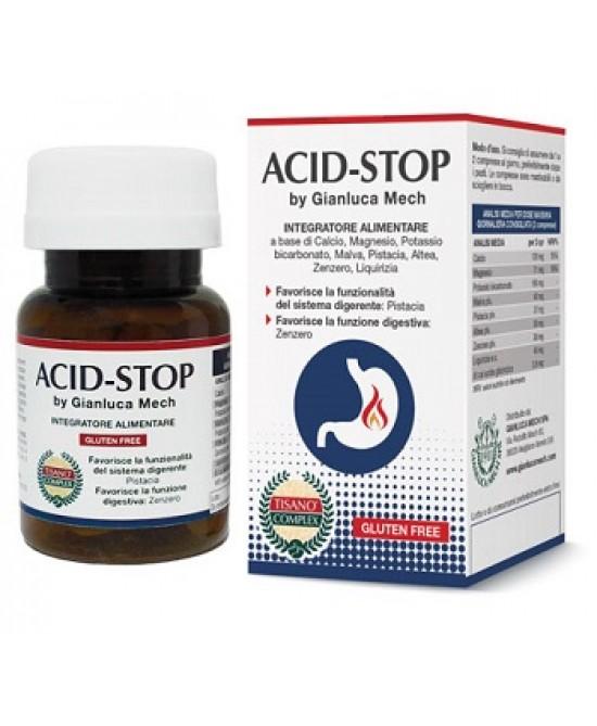 Acid-Stop by Gianluca Mech Integratore Alimentare 30 Compresse - La tua farmacia online