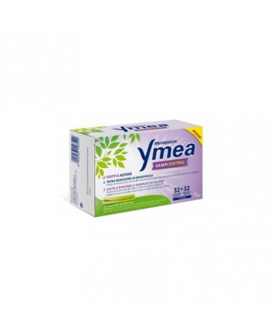 Ymea vamp control menopausa doppia azione 32+32 64 capsule - Zfarmacia