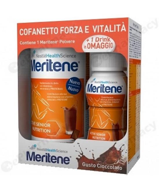 Nestlè Meritene Polvere Cioccolato 270g + Bevanda Omaggio - Farmacia 33