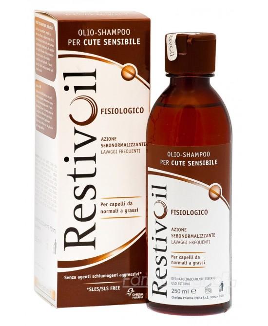Restivoil Fisiologico Olio Shampoo 250ml - Farmacia 33