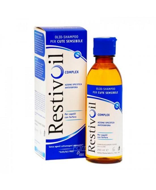 Restivoil Complex Olio-Shampoo Antiforfora Per Cute Sensibile 250 ml - La tua farmacia online