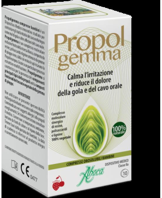 Aboca Propolgemma Bambini Integratore Alimentare 45 Compresse Oroslubili - Farmamille