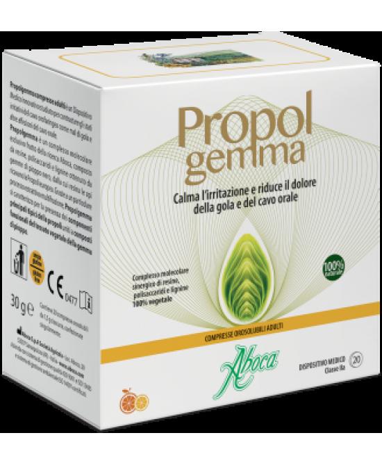 Aboca Propolgemma Integratore Alimentare 20 Compresse Orosolubili - Farmamille