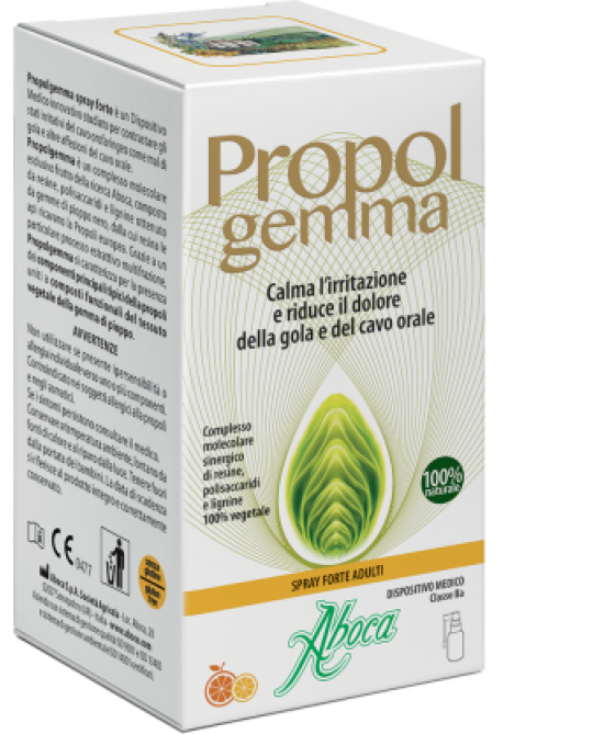 Aboca Propolgemma Spray Forte 30ml - Farmastar.it