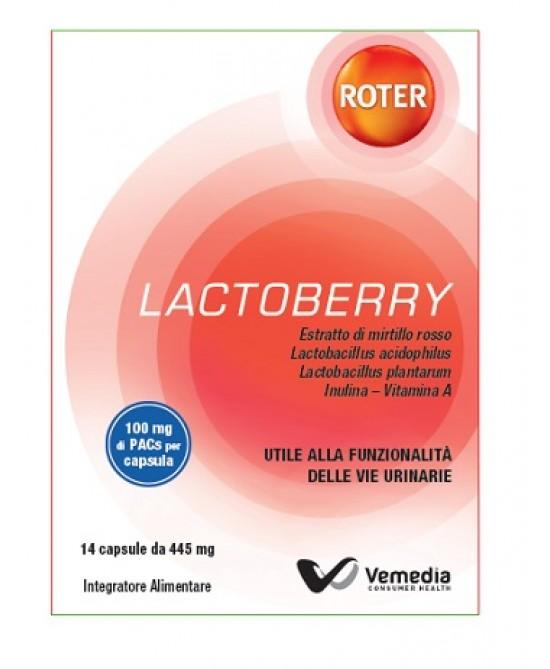 Roter Lactoberry Integratore Alimentare 14 Capsule - La tua farmacia online