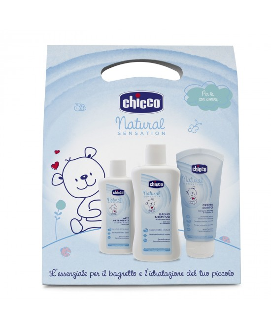 Chicco Natural Sensation Cofanetto Body - FARMAEMPORIO