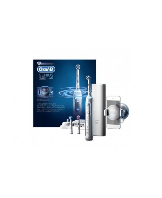 Oral-B Genius 8000 Pro Crossaction Spazzolino Elettrico - Farmamille
