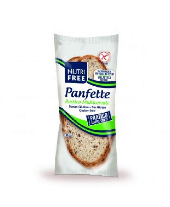 Nutrifree Panfette Rustico Multicereale Senza Glutine 80g - Farmacento