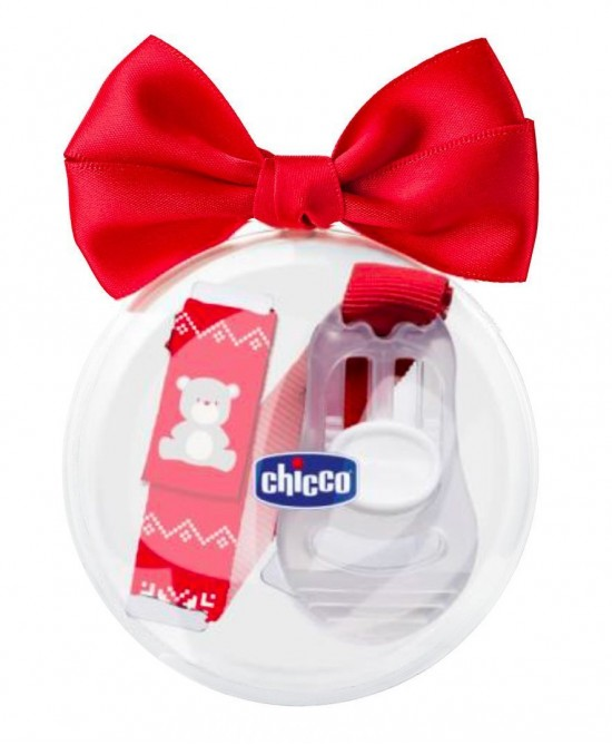 Chicco Clip Con Catenella Natale Limited Edition - FARMAEMPORIO