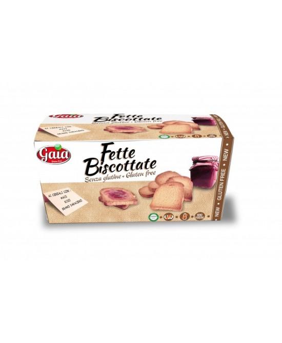 Gaia Fette Biscottate Integrali Senza Glutine 200g - FARMAEMPORIO
