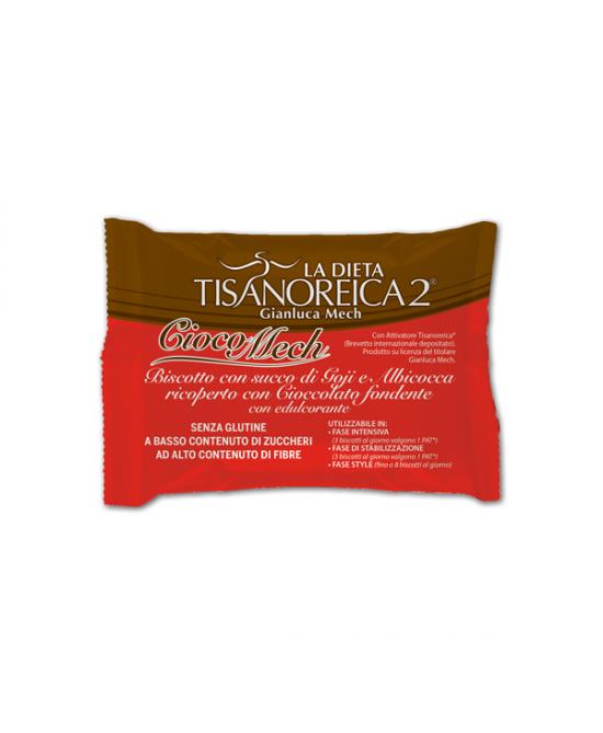Tisanoreica Style Cioco Mech Biscotti Alle Bacche Di Goji E Albicocca 9 Biscotti da 13g - La tua farmacia online