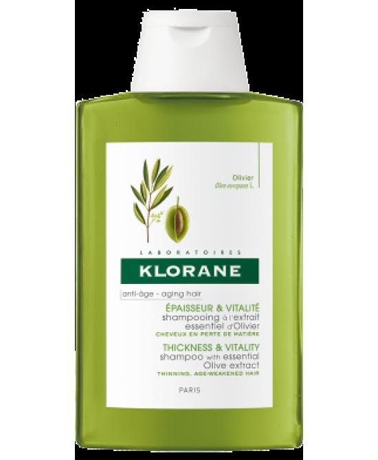 Klorane Shampoo All' Estratto Di Ulivo 400ml - Farmamille