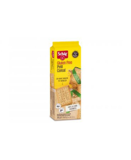 Schar Petit Cereal Biscotti Con Cereali Senza Glutine 165g - Zfarmacia