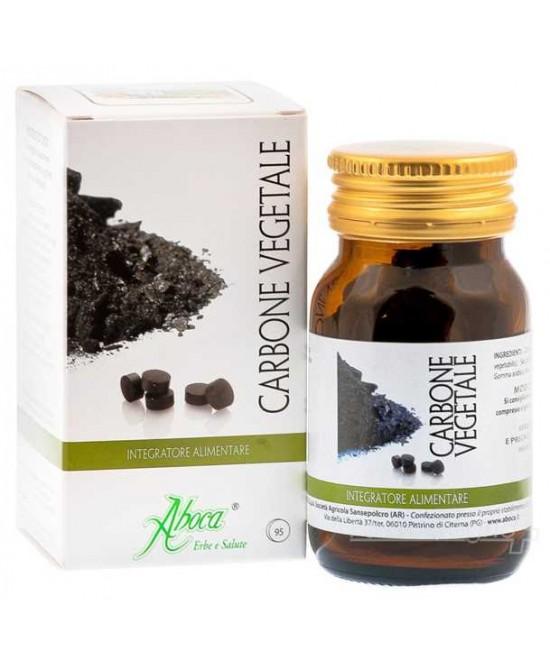 Aboca Carbone Vegetale Attivo Integratore Alimentare 30 Compresse - Antica Farmacia Del Lago