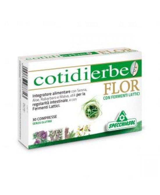 Specchiasol Cotidierbe Flor 30 Compresse - La tua farmacia online