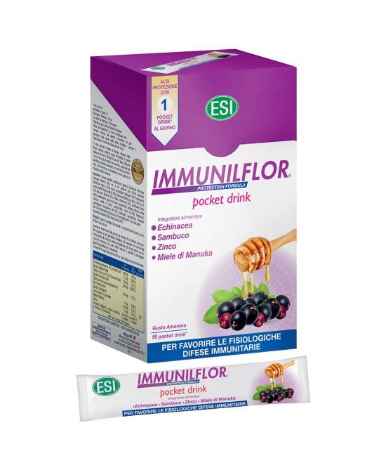 ImmunilFlor Integratore Alimentare 16 Pocket Drink - Zfarmacia