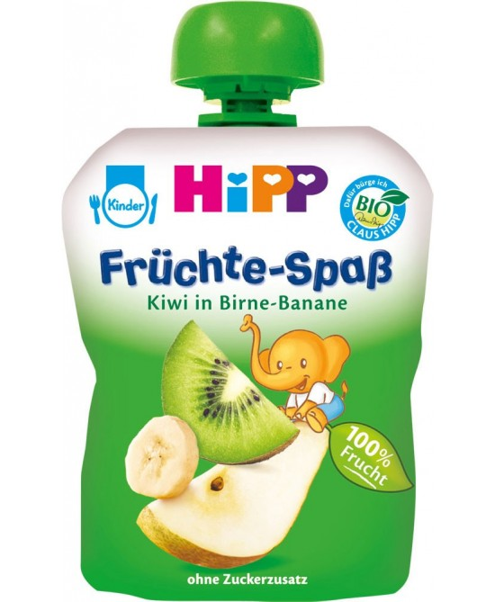 Hipp Frutta Frullata Pera Banana Kiwi Biologico 100g - Farmamille