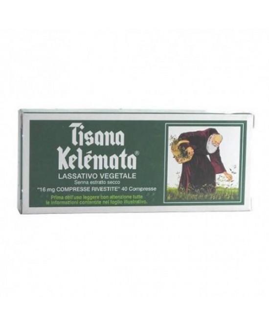 Kelémata Tisana Kelemata 16mg Trattamento Stitichezza Occasionale 40 Compresse Rivestite - Farmacia 33