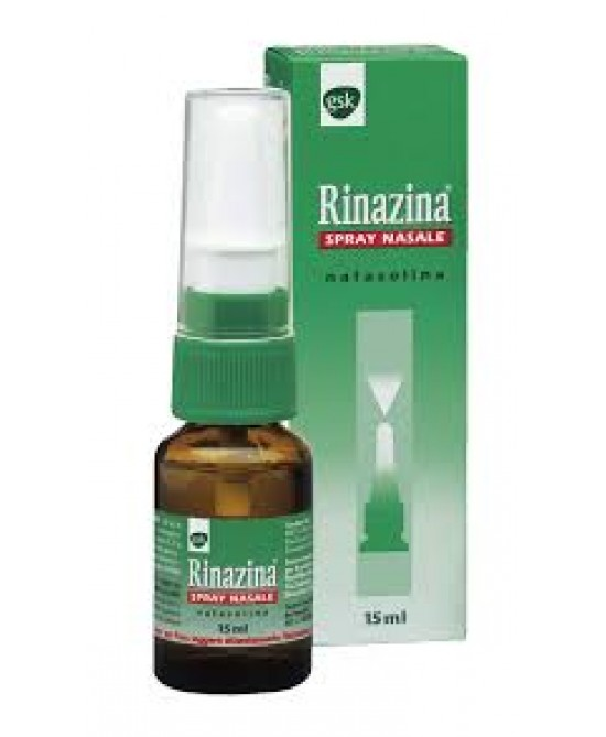 Rinazina 0,1% Spray Decongestionante Nasale 15ml - Farmastar.it