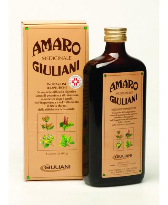 Giuliani Amaro Medicinale Flacone 400g - La tua farmacia online