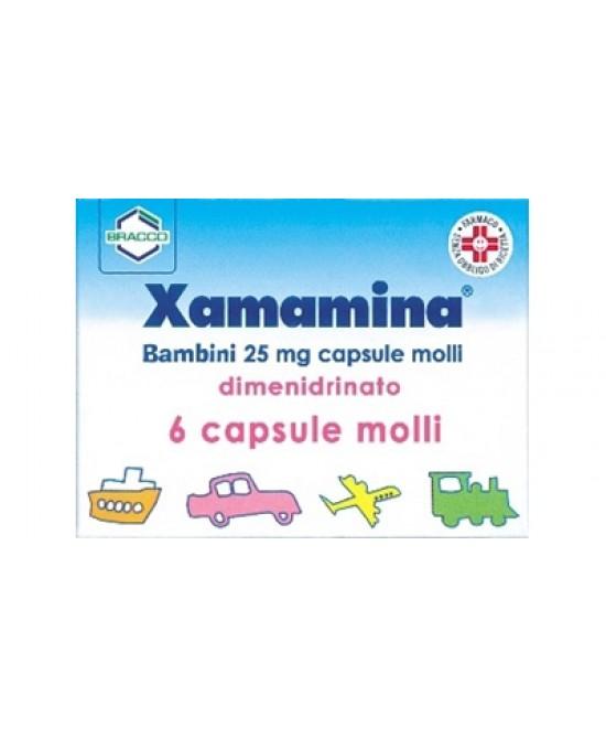 Bracco Xamamina 6 Capsule Da 50mg - Farmacia 33