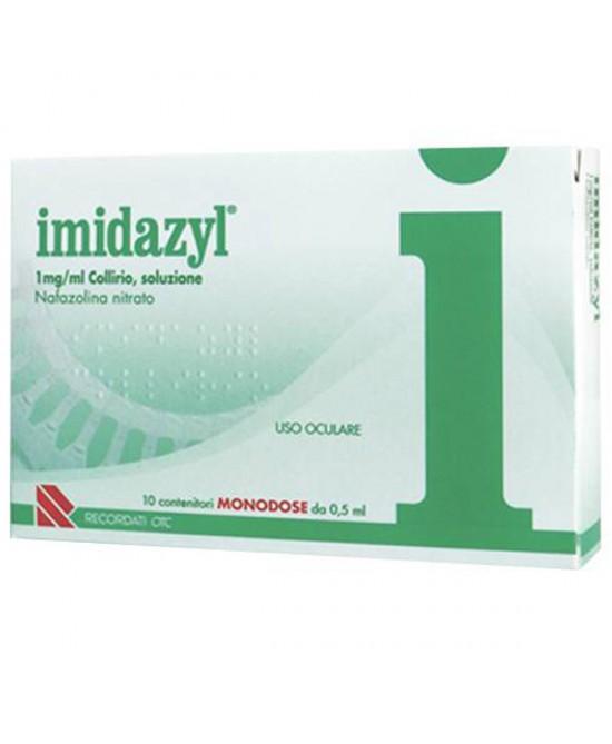 Recordati Imidazyl Collirio 1mg/ml 10 Flaconcini Monodose 0,5ml - La tua farmacia online