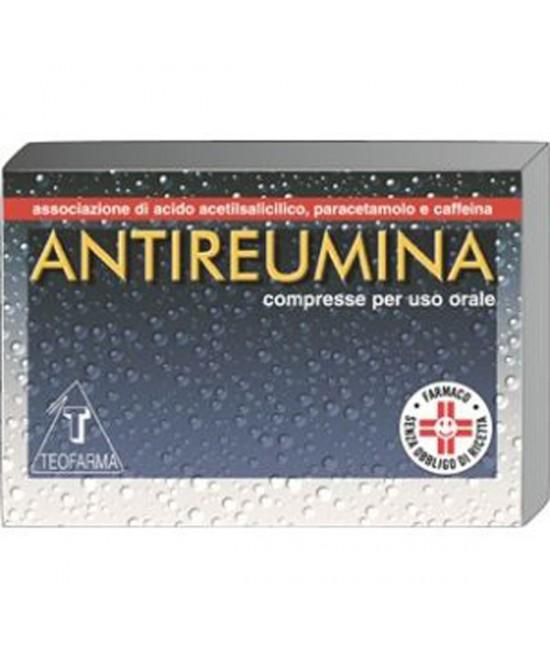 Teofarma Antireumina Trattamento Sintomatico Stati Febbrili E Sindromi Da Raffreddamento 10 Compresse - FARMAEMPORIO