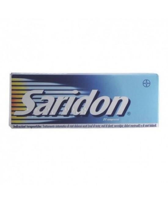 Saridon Paracetamolo 20 Compresse - Farmacia 33