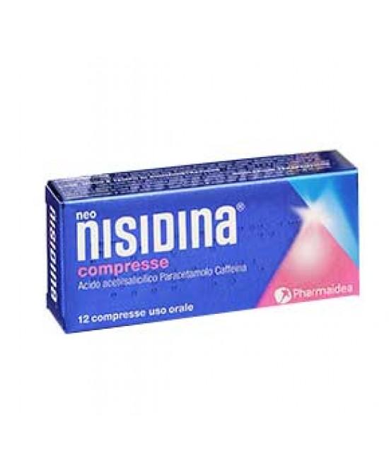 Neonisidina 200mg + 250mg + 25mg 12 Compresse - Farmacia 33