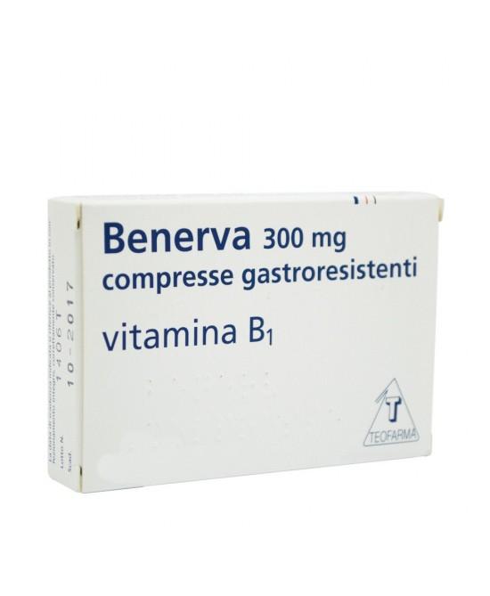 Benerva Vitamina B1 20 Compresse 300mg - La tua farmacia online