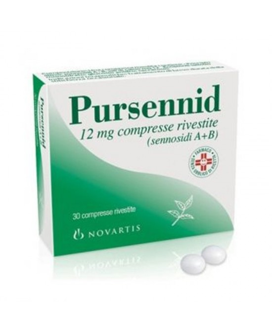 Pursennid 12mg  30 Compresse Rivestite - Farmastar.it